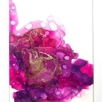 Картина в рамке • fantastic flower •