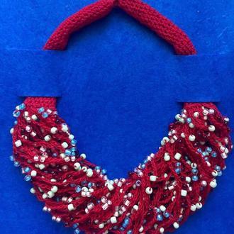 Fish_ka red (универсальное ожерелье)