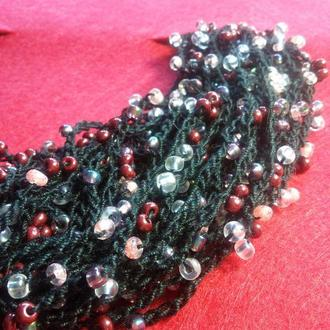 Fish_ka black (универсальное ожерелье)
