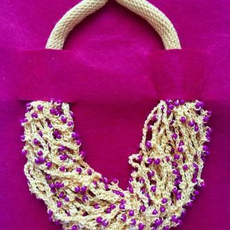 Fish_ka yellow (универсальное ожерелье)