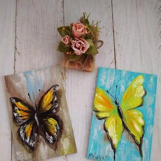 Набор картин Бабочки
