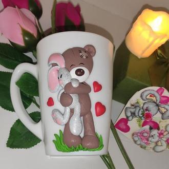 Чашка для любимых: декор
