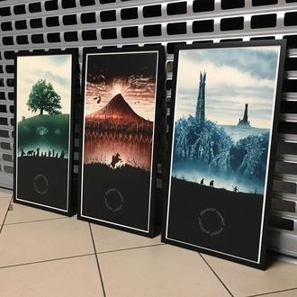 Модульная картина / Постер «Властелин Колец» (Lord of the Rings)
