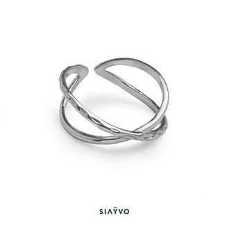 Кольцо фаланговое с насечкой