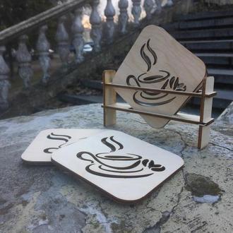 Костеры (подставки под горячее) Coffee