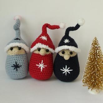 Гном зимний, Гномик для дома, Новогодний гном, Праздничный Гном