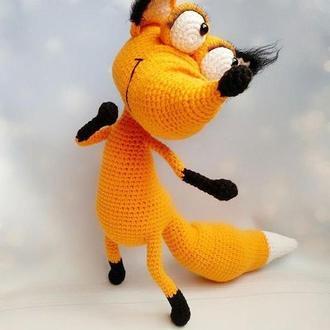 Игрушка лисичка Хитруля