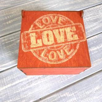 Готовий набір для подарунку на День св Валентина.