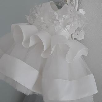 Шикарное платье для девочек в свой первый день рождения