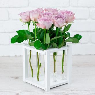 Ваза для цветов (9 пробирок)