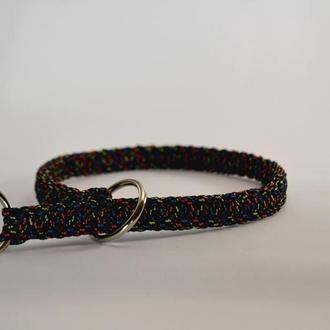 Multi-colored Choke Collar, ошейник-удавка из паракорда