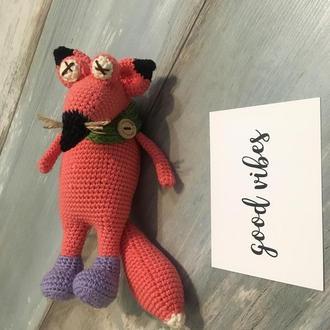 Лисичка игрушка , лиса