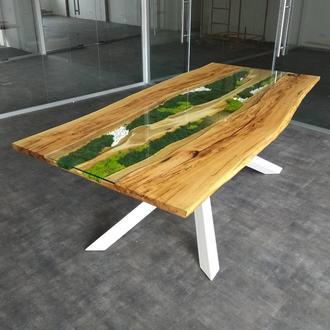 Большой стол для переговоров в стиле LOFT