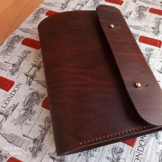 Нереально крутой кожаный ежедневник/блокнот с кольцевым механизмом