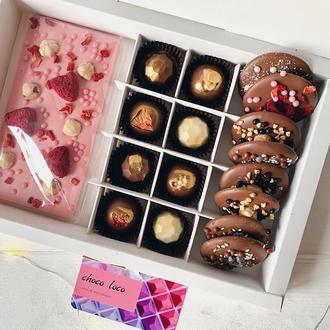 Подарочный набор из шоколада