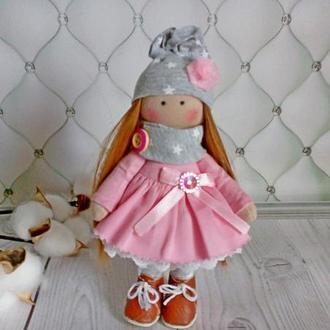 Текстильная кукла. Интерьерная кукла.