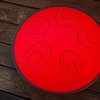 "Глюкофон ""Мира Красный Дракон"" аналог Ханг драм, Hapi Drum, Happy Drum Hang (Aeolian) 10 нот"
