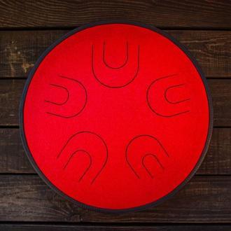 "Глюкофон ""Мира Красный Дракон"" аналог Ханг драм, Hapi Drum, Happy Drum Hang (Natural Minor) 10 нот"
