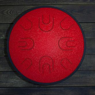 "Глюкофон ""большой Красный Дракон"" аналог Ханг драм, Hapi Drum, Happy Drum Hang (Hijaz) 16 нот"