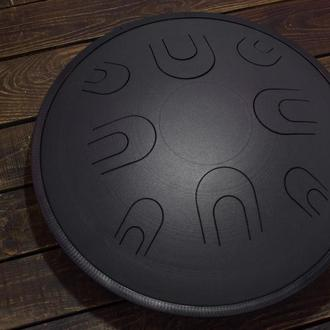 "Глюкофон ""Атлант Черная Жемчужина"" аналог Ханг драм, Hapi Drum, Happy Drum Hang (Aeolian) 16 нот"