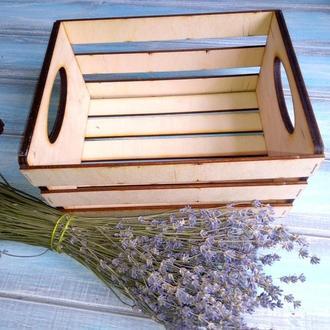 Декоративные ящики для хранения, создания флористических или подарочных композиций.