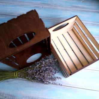 Декоративні ящики для зберігання, створення флористичних чи подарункових композицій.