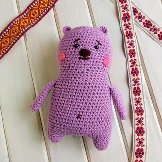 Толстый медведь.
