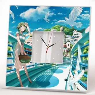 """Дизайн часы с декором стиле """"Аниме. Манга"""""""