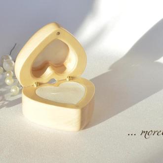 "Шкатулка для помолвки кольца ""El corazon"""