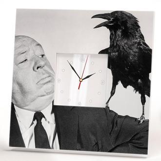 """Интерьерные часы  """"Альфред Хичкок"""""""