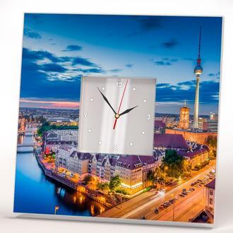 """Часы настенные с фото """"Берлин"""""""