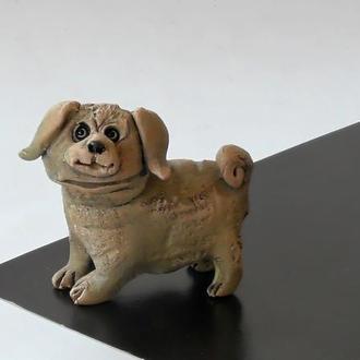 Фигурка собаки сувенир в виде собачки