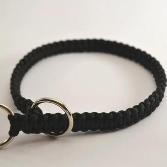 Black Choke collar, Нашийник-удавка з паракорда