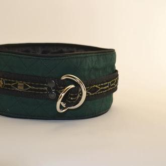 Dark Green Poodle's Collar. Mod. Mary Ошенийк для Пуделя