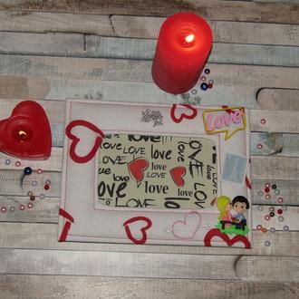 Фоторамка  к дню всех влюбленных