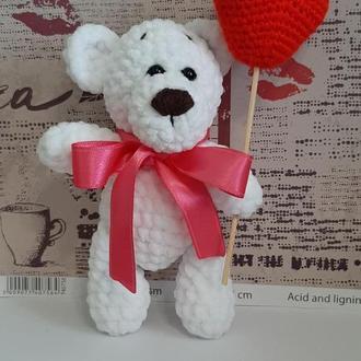 Мишка Зефирчик с сердечком