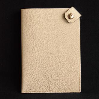 Обложка - чехол для паспорта из натуральной кожи