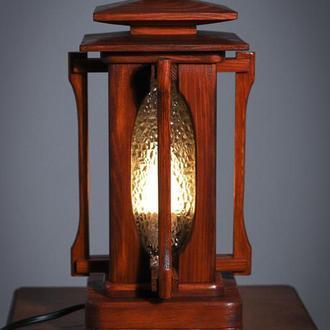 """Светильник - ночник из дерева """"Сакура"""""""