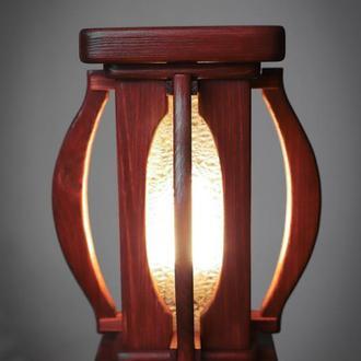 """Светильник - ночник из дерева """"Песочные часы"""""""