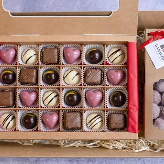 Большой шоколадный подарок
