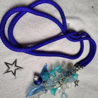 Лариат синий