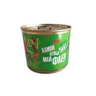 Свеча-консерва Камон бейби лайт май фаер зеленый S