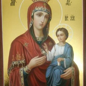 """Икона """" Пресвятая Богородица с младенцем"""""""