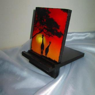 Подставка для телефона, смартфона, планшета. электронной книги ′Саванна′