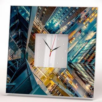 """Декоративные стильные часы """"Нью Йорк"""""""
