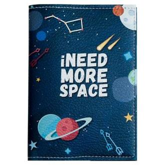 Обложка для паспорта iNEED MORE SPACE синий