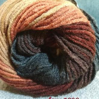 Пряжа ′Lana Gold Batik′ для вязания высокого качества ТМ ′Alize′