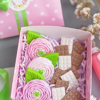 Подарочный набор мыла  Love in Spring Ранункулюсы