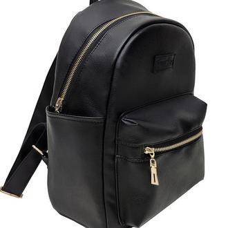 Женскый черный рюкзак для учебы