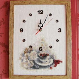 Годинник-Картина Кавове настрій